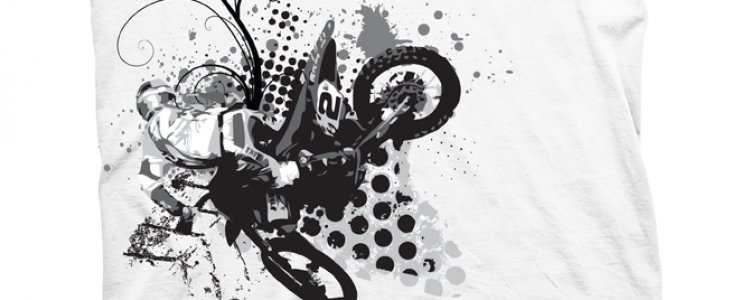 T-Shirt Design for Canadian MX Pro Dusty Klatt